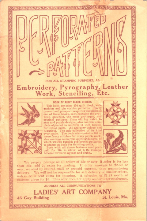 perforated catalog 1914